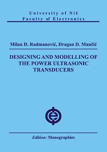 Purchase design and modelling of power ultrasonic transducers book